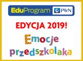 """EduProgram PWN – rusza edycja 2019! """"Emocje przedszkolaka"""""""