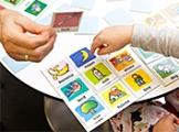 Karty obrazkowe na lekcji języka obcego