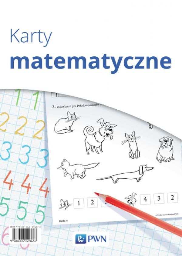 Karty Z Literami I Karty Matematyczne Pomoce Dydaktyczne Wychowanie